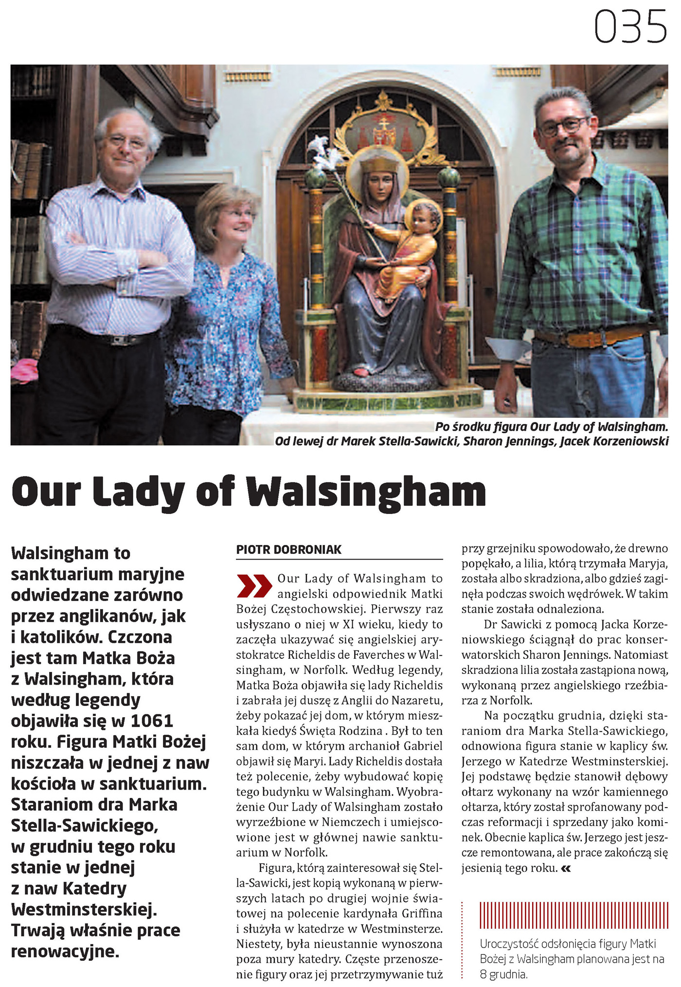 Cooltura: Our Lady of Walsingham